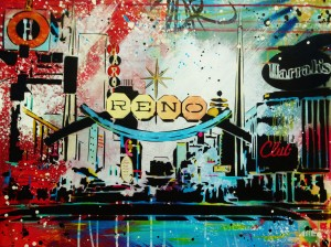 Reno Arch 18x24in 2013