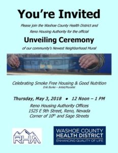 Community Mural Unveiling Ceremony @ Reno Housing Authority Offices | Reno | Nevada | United States