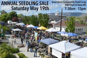 Great Basin Community Food Coop present: Seedling Sale @ Great Basin Community Food Coop | Reno | Nevada | United States