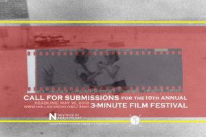 Call to Artists: 10th Annual 3-Minute Film Competition @ Nevada Museum of Art | Reno | Nevada | United States