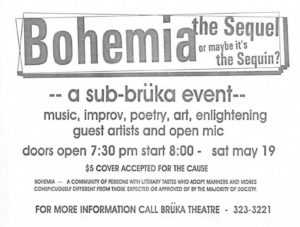 Bruka Theater presents: Bohemia The Sequel @ Bruka Theatre  | Reno | Nevada | United States