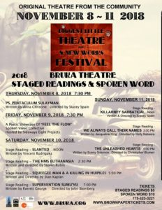 Bruka Theatre presents: SLANTED - STAGE READING @ Bruka Theatre | Reno | Nevada | United States