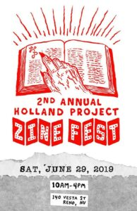 Holland Project Zine Fest 2019 @ Holland Project