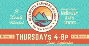 Riverside Farmers Market @ McKinley Arts and Culture Center