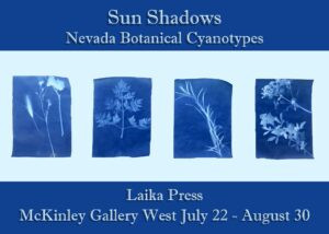 McKinley Gallery West presents: Laika Press: Sun Shadows @ McKinley Arts and Culture Center