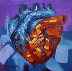 Local artist examines the heart @ Holland Project Art Gallery