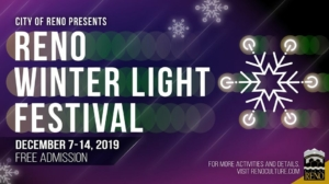Reno Winter Light Festival @ City Plaza