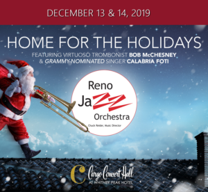 A Jazzy Home for the Holidays @ Cargo Concert Hall at the Whitney Peak Hotel